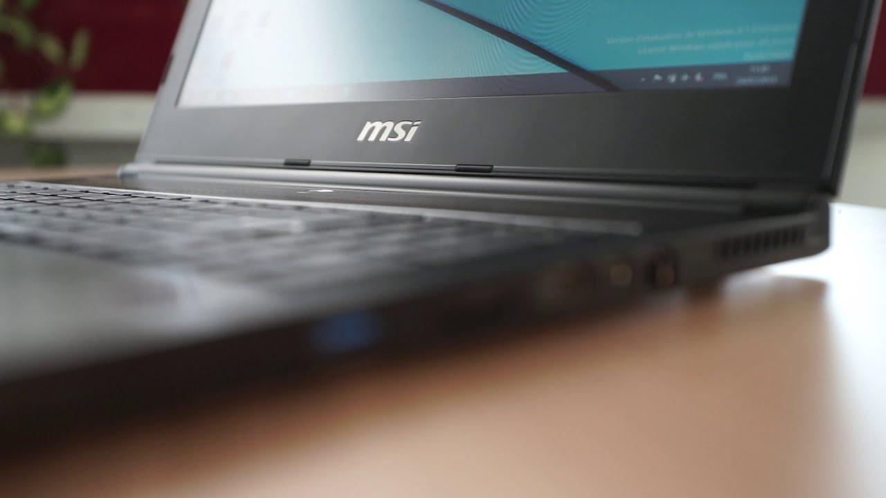 MSI GS60 Ghost Pro : test, prix et fiche technique - Ordinateur