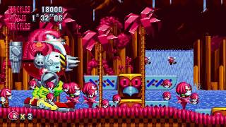 Sonic Mania Mods AND KNUCKLES - Knuckles Mania