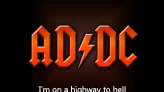 Highway to hell with lyrics