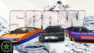 Sledding in GTA V: Snow Update