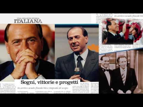 Silvio Berlusconi: una grande storia italiana