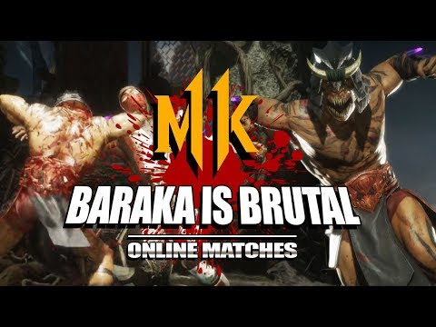 BARAKA IS BRUTAL: Mortal Kombat 11 - Online Matches (Stress Test) thumbnail