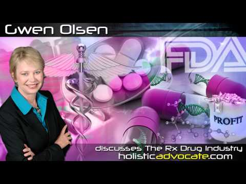 Author and Lecturer on The Rx Drug Industry - Gwen Olsen is interviewed.