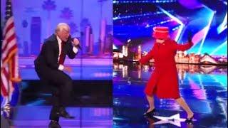President Donald Trump vs. Queen Elizabeth EPIC Dance Off - Who Wins?