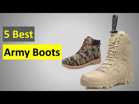 5 Best  Army Boots In 2020