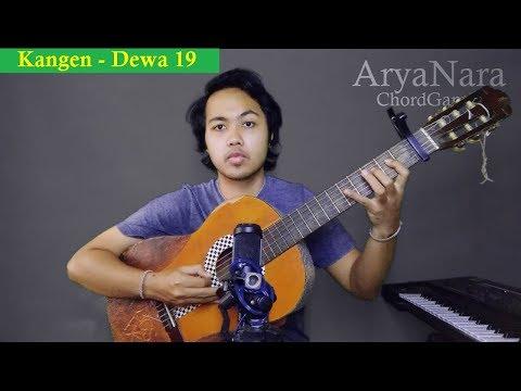 Chord Gampang (Kangen - Dewa 19) By Arya Nara (Tutorial)