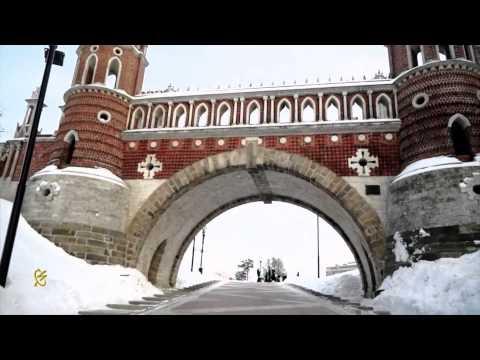 прогулка В ЦАРИЦИНО зимой