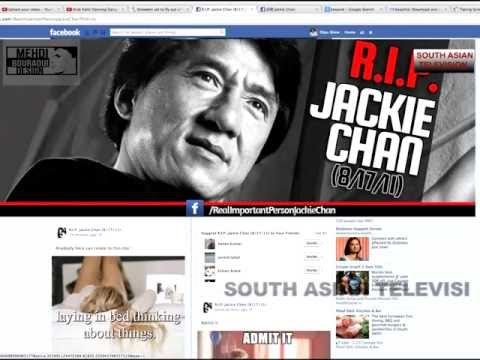 IS JACKIE CHAN REALLY DEAD ? - YouTube