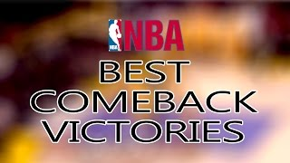Best NBA Comeback Games