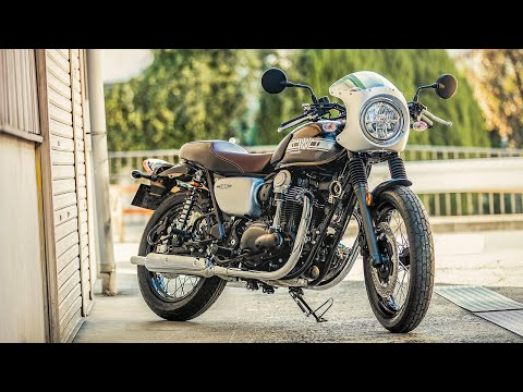 2019 Kawasaki W800 Café MC Commute Review