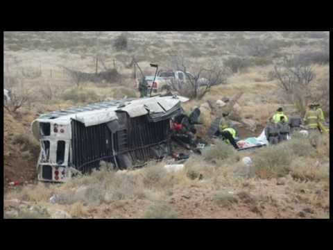 Bus Carrying Prisoners Hits Train In Deadly West Texas Wreck!