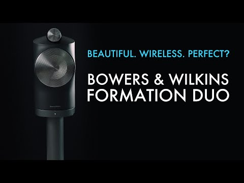 The BEST SPEAKER Available Today? - B&W Formation Duo Loudspeaker Review