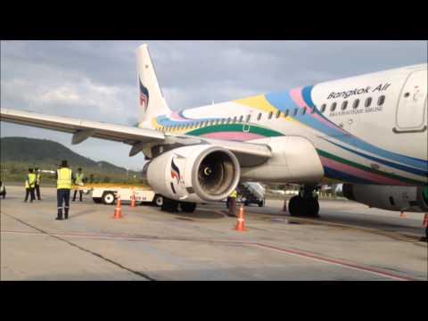 Koh Samui Airport PG Bangkok Airways Staff