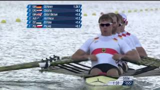 Men's Quadruple Sculls Rowing Final Replay   London 2012 Olympics