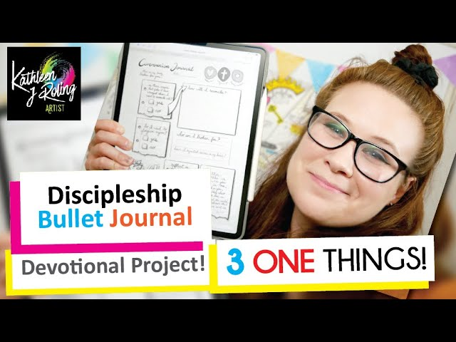 3 One Things Bullet Journal Announcement!
