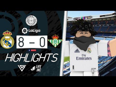 SSRL | La Liga GW1 | Real Madrid VS Real Betis Highlights