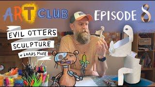 Gambar cover Art Club with Olaf Falafel – Episode 8