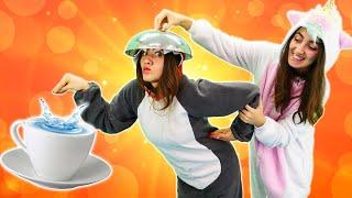 Прикольные видео - Милая пони Единорожка и Акула пьют чай! - Весёлые игры одевалки для девочек