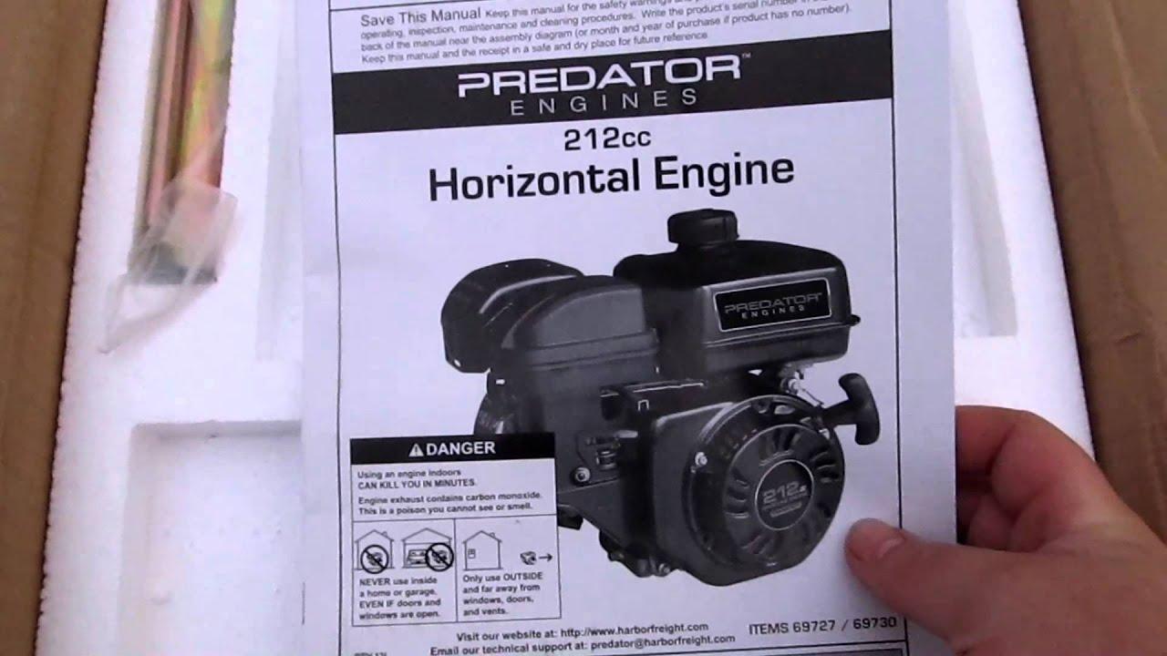 Predator 212cc 65hp Engine Unboxing Youtube. Predator 212cc 65hp Engine Unboxing. Wiring. 212cc Ohv Engine Diagram At Scoala.co