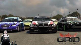 Жесткий туринг в GRID Autosport на руле Fanatec CSL Elite