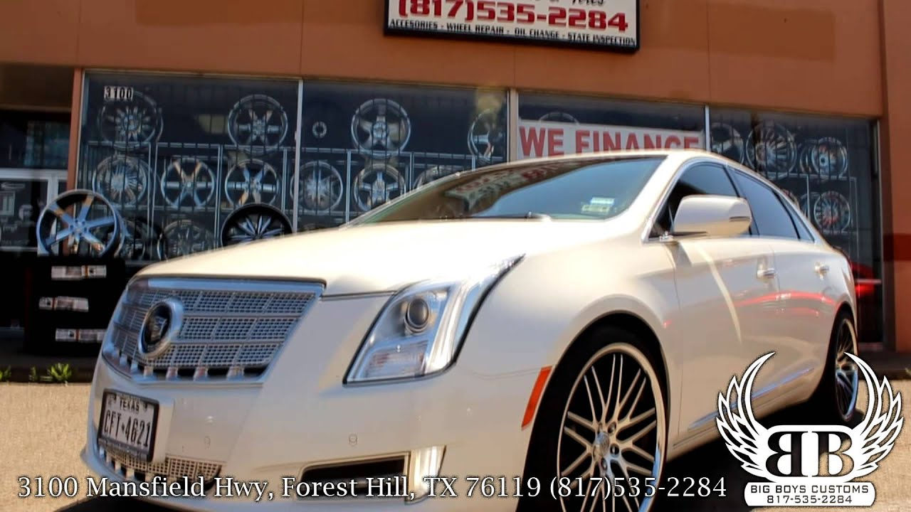 Cadillac Xts On 22 Quot Staggered Lexani Wheels Done By Big