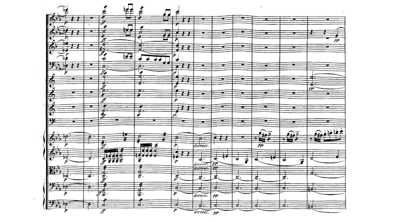 beethovens third symphony in e flat essay Fill this in with your information ludwig van beethoven (1770-1857) symphony no 3 in e-flat major, op 55, eroica: i allegro con brio.