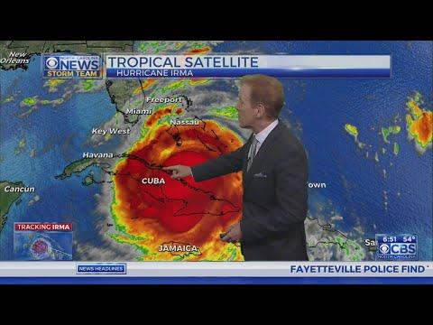Saturday morning Irma update