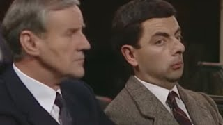Sneezing in church | Mr. Bean Official