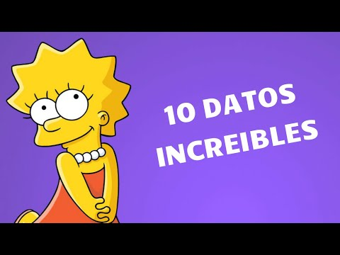 10 CURIOSIDADES QUE NO SABIAS DE LISA SIMPSON