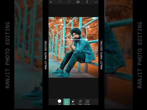 #Shorts PicsArt Creative Photo Editing 🔥 #ranjit_photo_editing
