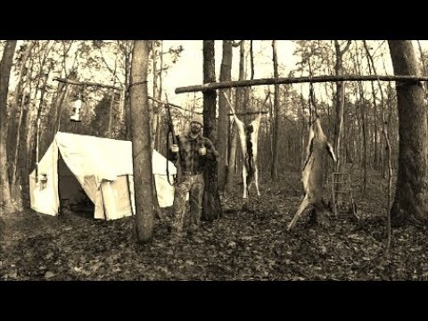 Last Wall Tent Deer Camp Of The Season
