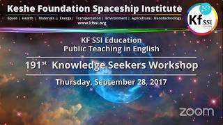 Video 191st Knowledge Seekers Workshop - Sept 28, 2017 download MP3, 3GP, MP4, WEBM, AVI, FLV Desember 2017