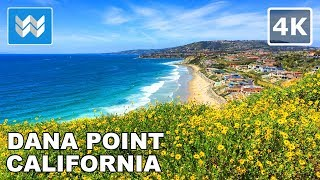 Walking from Headlands Trail & Harbor Point Park in Dana Point, California