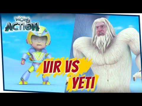 VIR: The Robot Boy Cartoon In Hindi - EP72B  | Full Episode | Cartoons For Kids | Wow Kidz Action