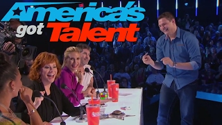 GENIUS RUBIK'S CUBE MAGICIAN BLOWS REBA AWAY // STEVEN BRUNDAGE ON AMERICA'S GOT TALENT