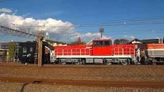 HD300-26甲種輸送列車 府中本町 2017/12/05