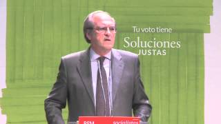 Ángel Gabilondo acto en Madrid  19 05 15 Que no nos roben la palabra libertad