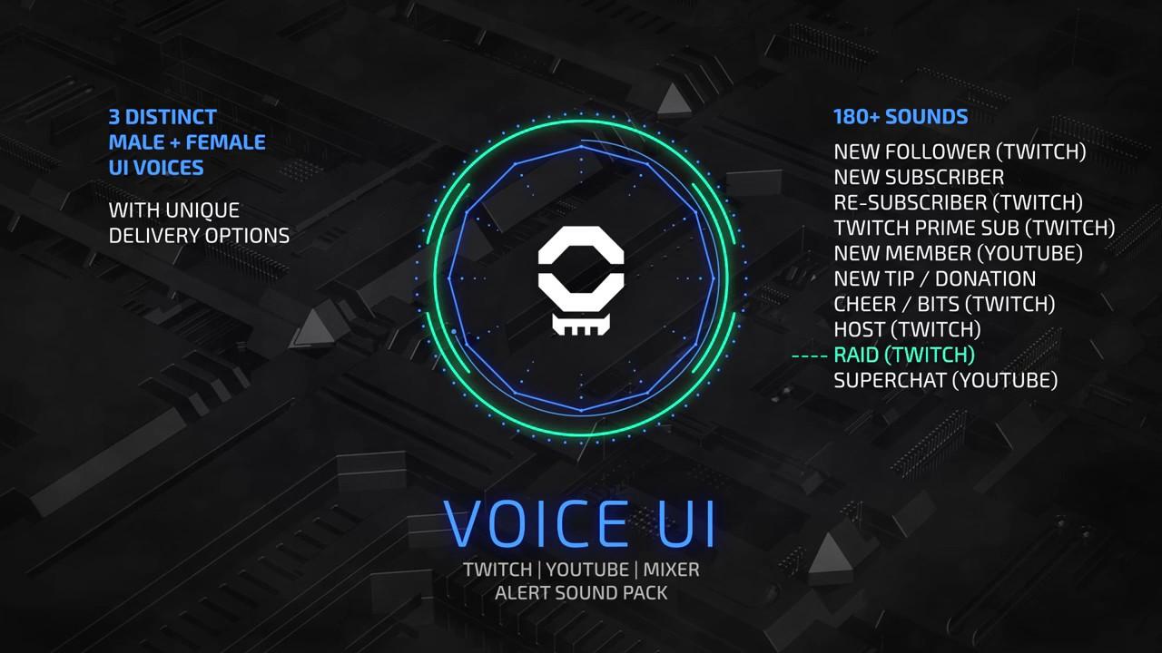 Voice UI - Sound Effects
