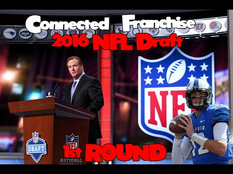 Madden 16 CFM - 2016 NFL Draft *REAL PROSPECTS* 1st Round