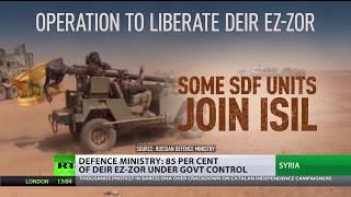 Terror Ambush: Outnumbered Russian military police unit repels Al-Nusra gun trap