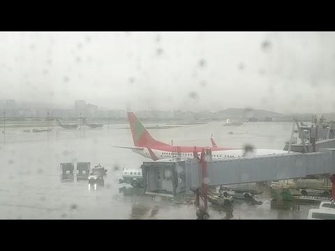 🔴 Live: Bad Weather ANA 787 Taipei Airport 台北 飛機場
