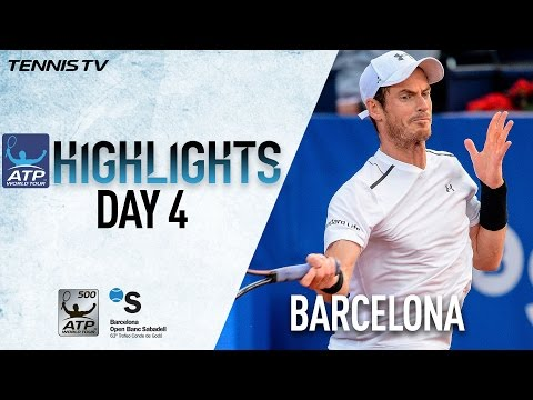 Highlights: Murray Nadal Into Last Eight In Barcelona 2017