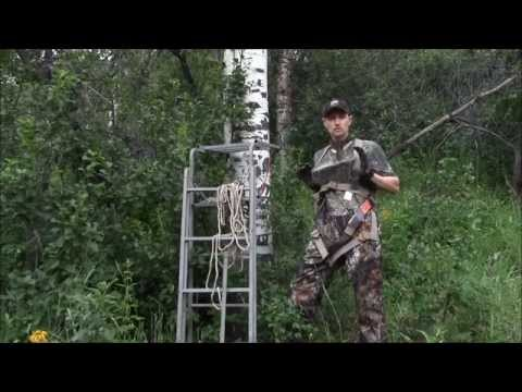 How To Set A Ladder Treestand