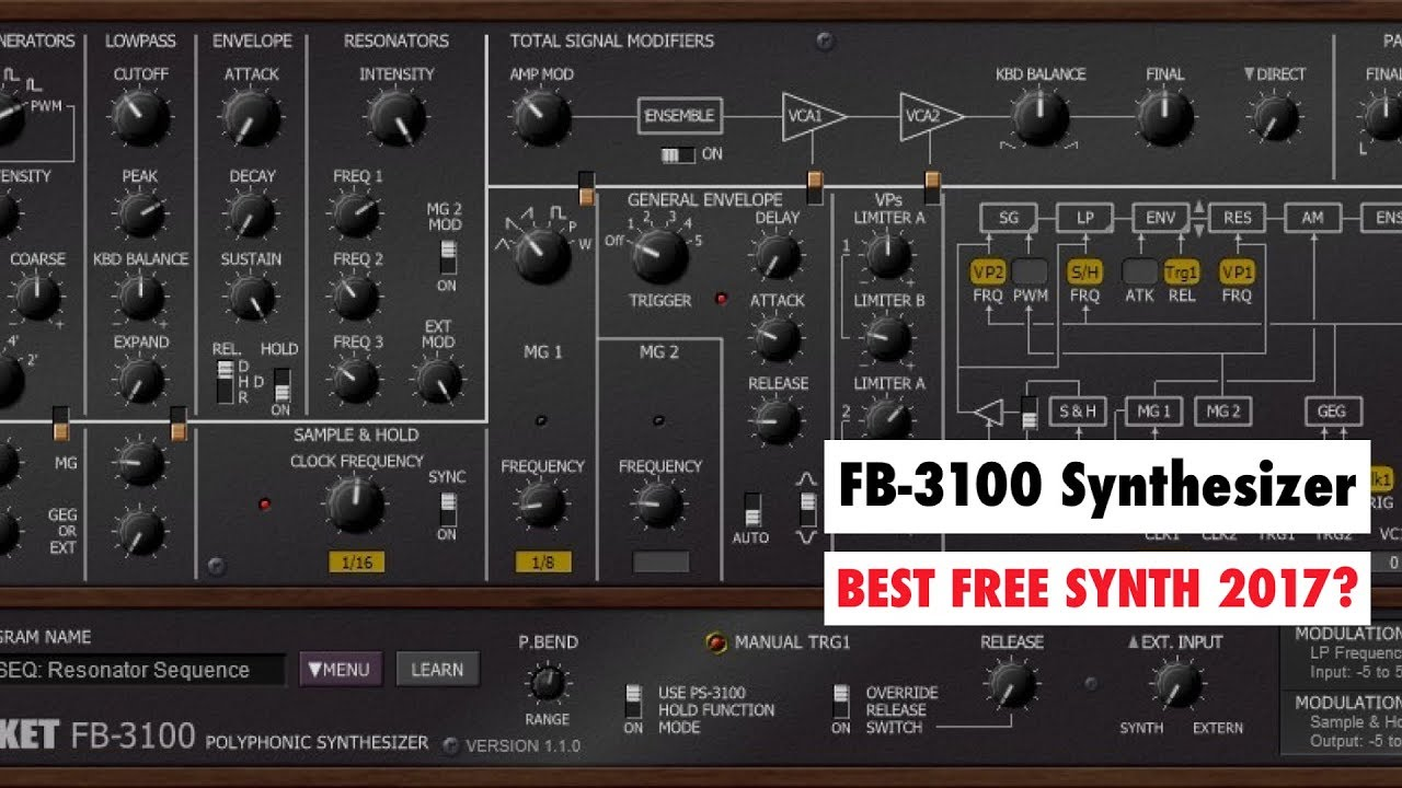 fb 3100 synthesizer for