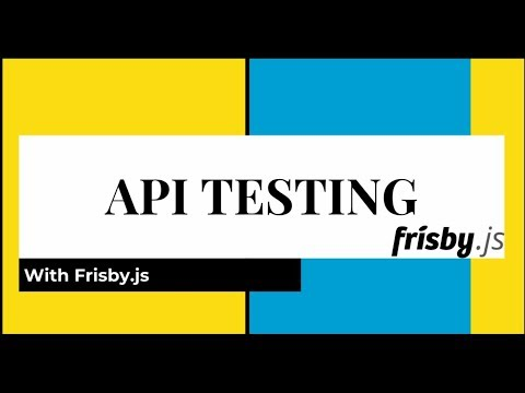 API Testing Tutorial with Frisby js