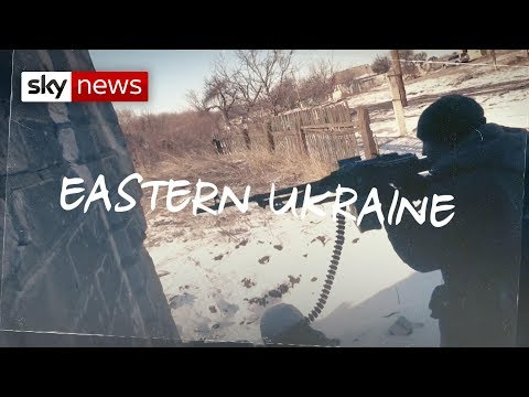 On the frontline in Ukraine