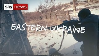 Видео On the frontline in Ukraine от Sky News, Украина