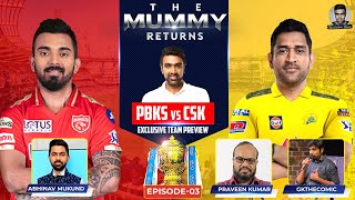 A Game of Thrones: Clash of the Kings | CSK vs PBKS | Ashwin | Mummy Returns | #IPL2021