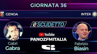 #eScudetto 36^ GIORNATA: GENOA-INTER (ore 19:00)