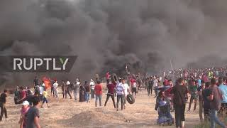 State of Palestine: Over 115 injured as Israeli forces use live ammo in Gaza protest